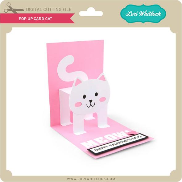 Pop Up Card Cat