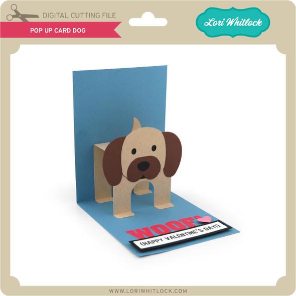 Pop Up Card Dog