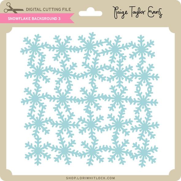 Snowflake Background 3