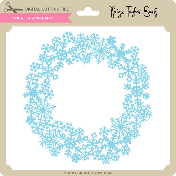 Snowflake Wreath 1