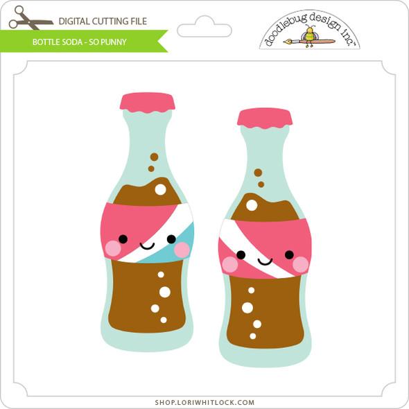 Bottle Soda - So Punny