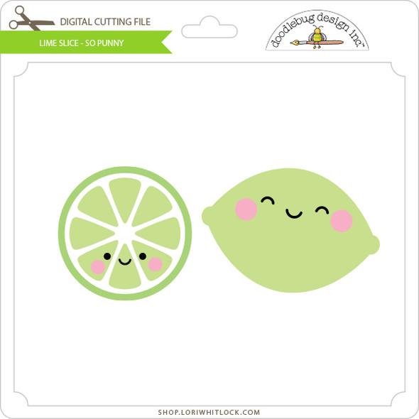 Lime Slice - So Punny