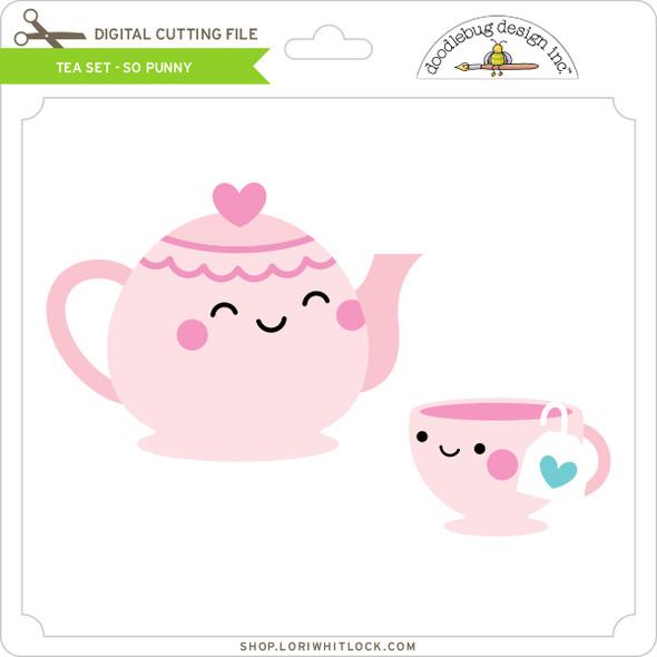 Tea Set - So Punny