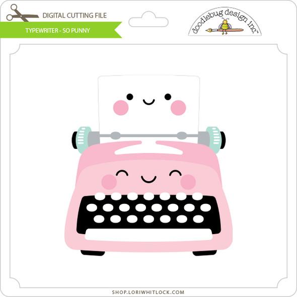 Typewriter - So Punny