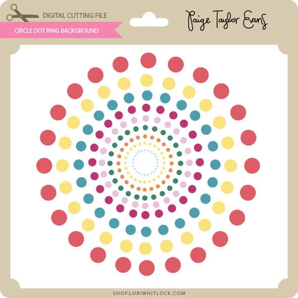 Circle Dot Ring Background