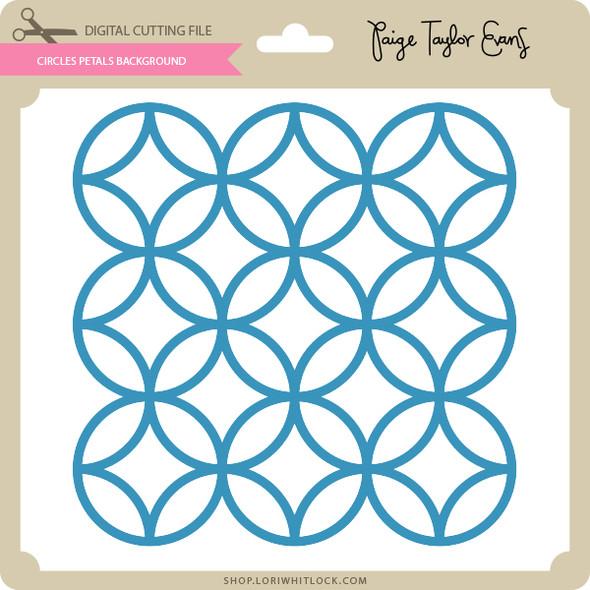 Circles Petals Background