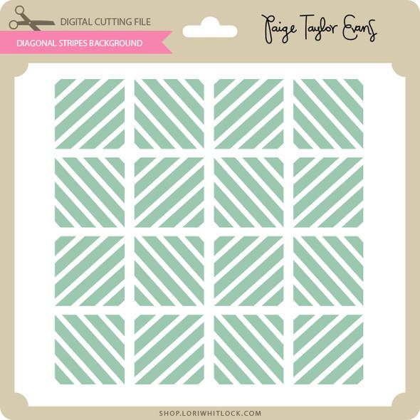 Diagonal Stripes Background