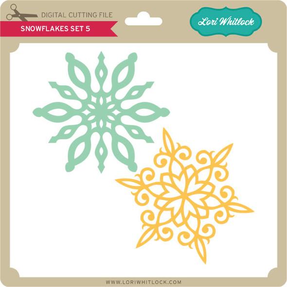 Snowflake Set 5