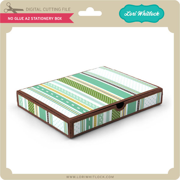 No Glue A2 Stationery Box