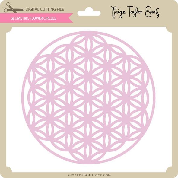 Geometric Flower Circles