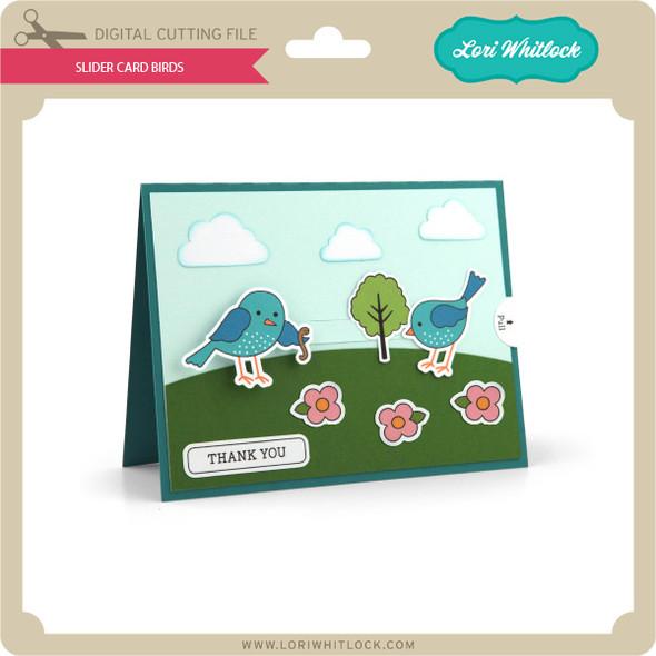 Slider Card Birds