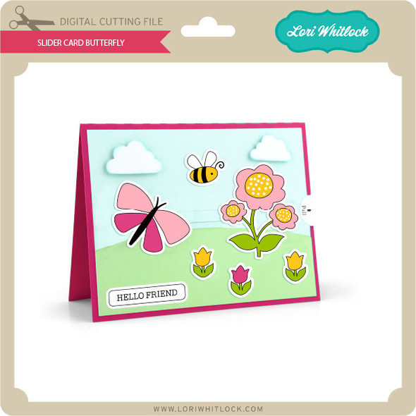 Slider Card Butterfly
