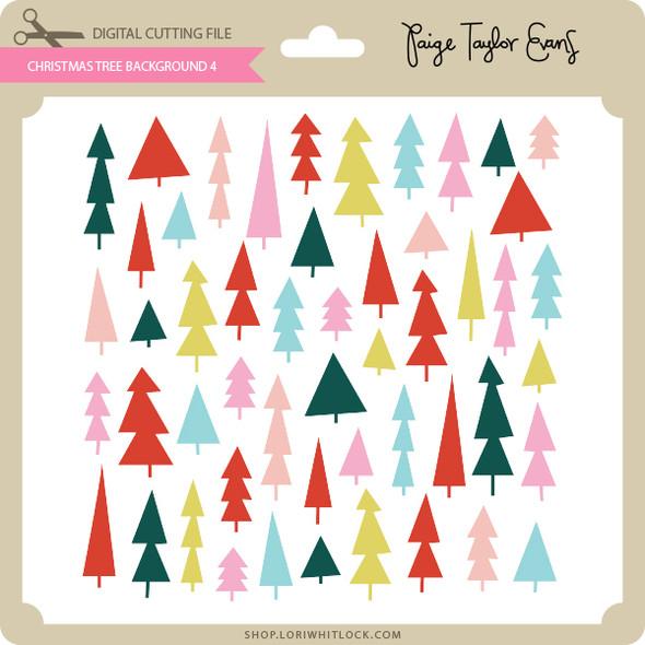 Christmas Tree Background 4