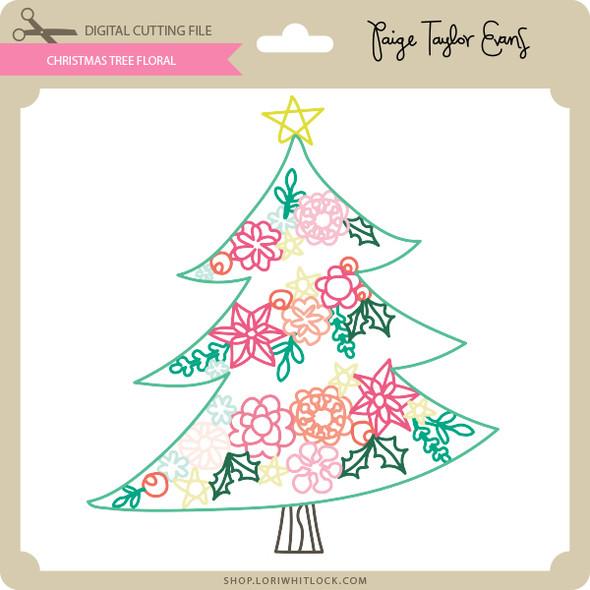 Christmas Tree Floral