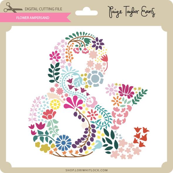 Flower Ampersand