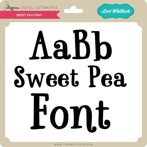 LW Sweet Pea Font