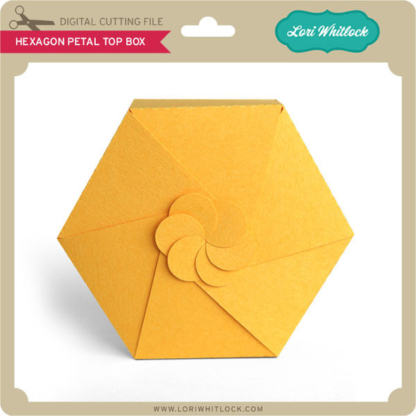 Hexagon Petal Top Box