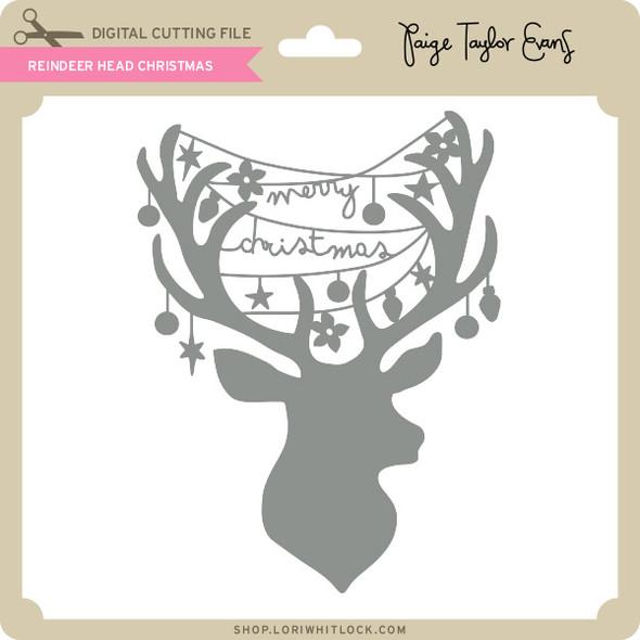 Reindeer Head Christmas