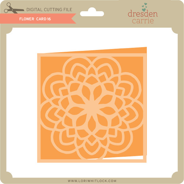 Flower Card 16