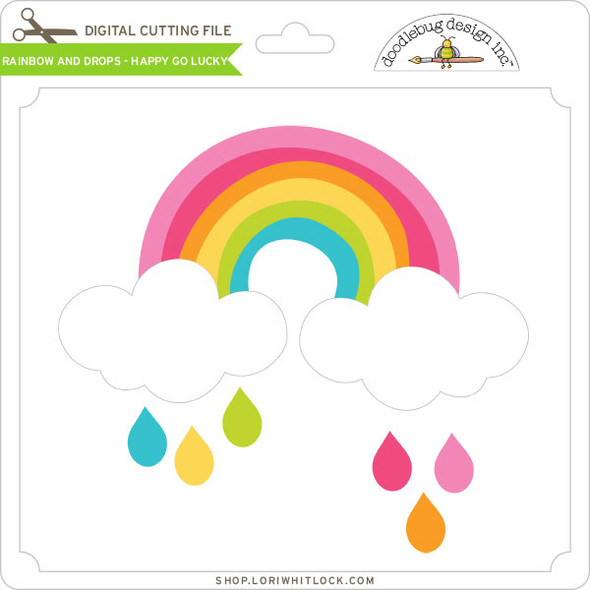 Rainbow and Drops - Happy Go Lucky