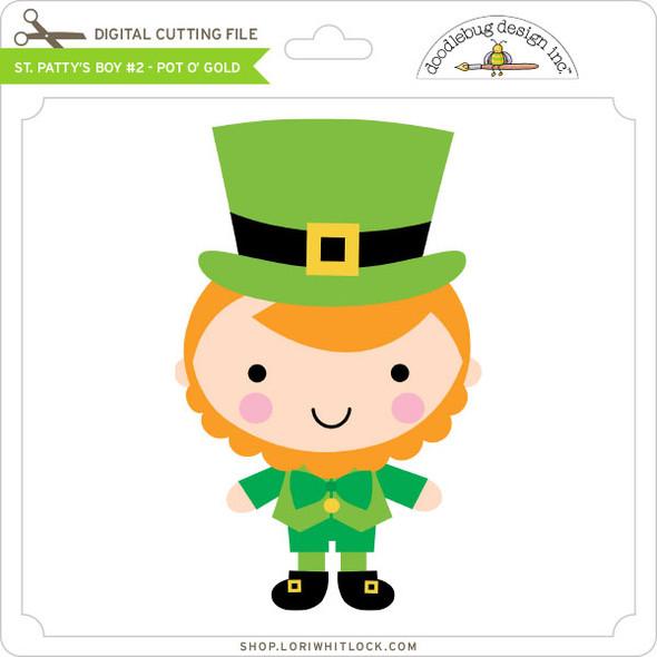 St Patty's Boy #2 - Pot O' Gold