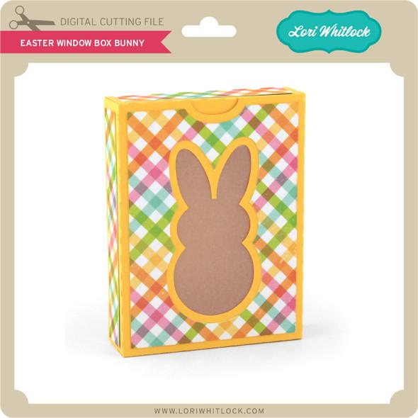 Easter Window Box Bunny
