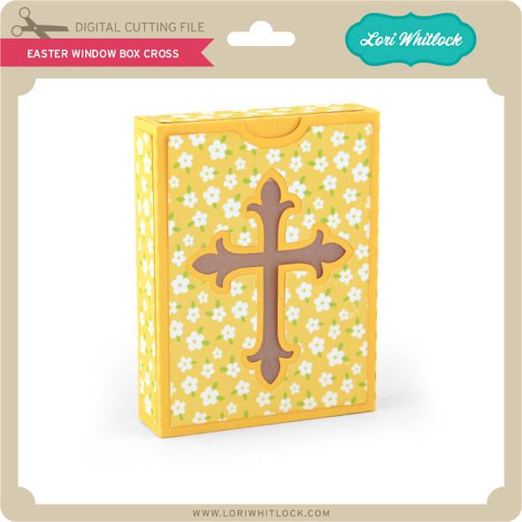 Easter Window Box Cross