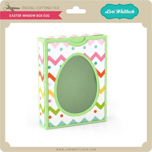 Easter Window Box Egg