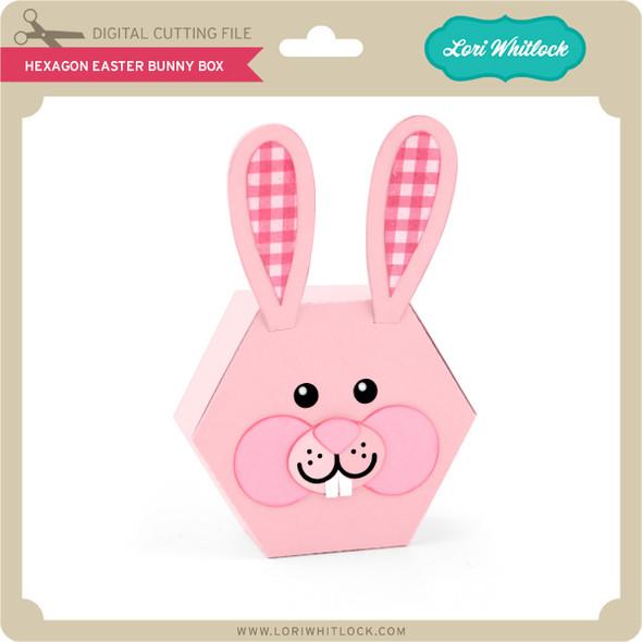Hexagon Easter Bunny Box