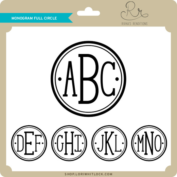 Monogram Full Circle