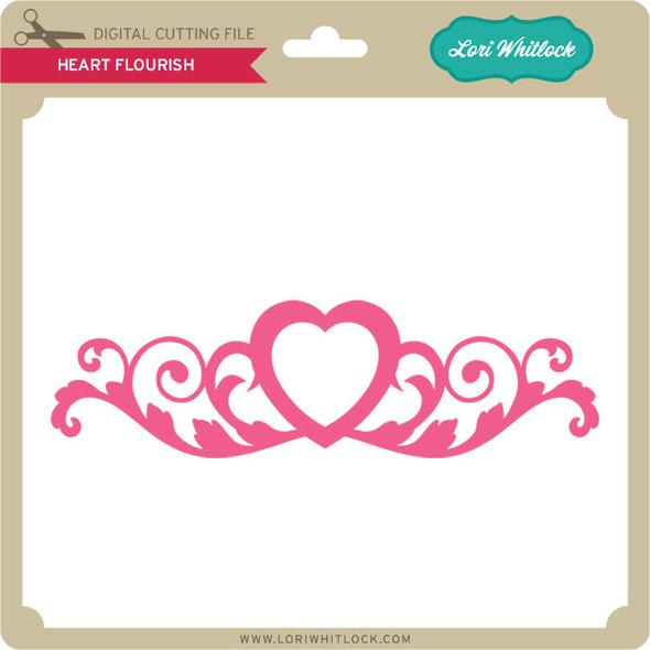 Heart Flourish