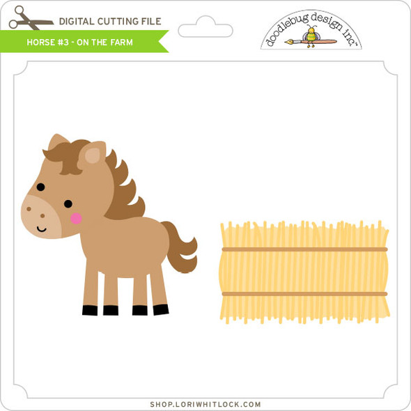 Horse #3 - On the Farm