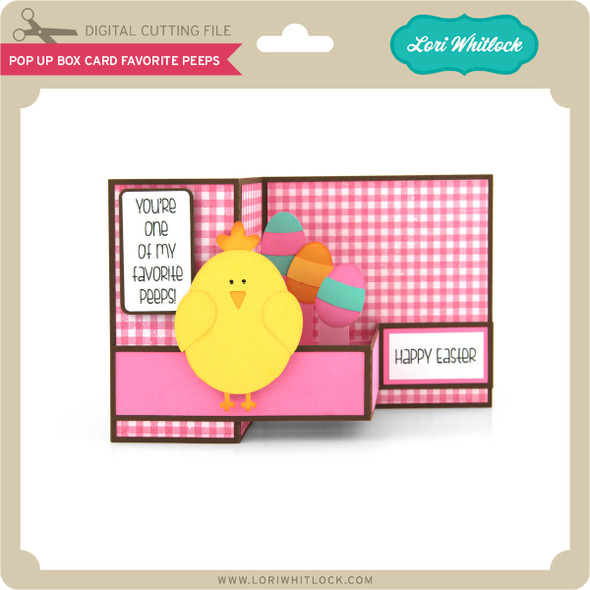 Pop Up Box Card Favorite Peeps