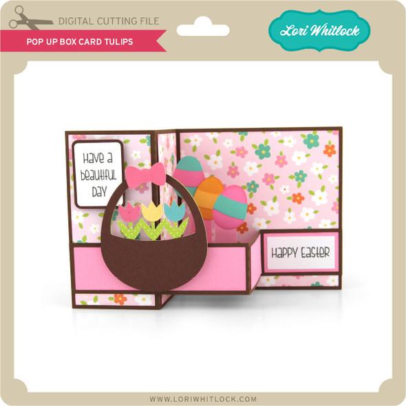 Pop Up Box Card Tulips