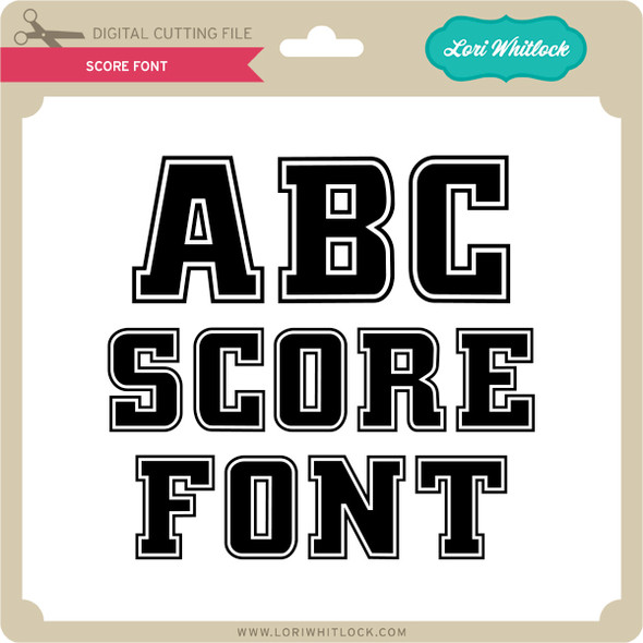 Score Font