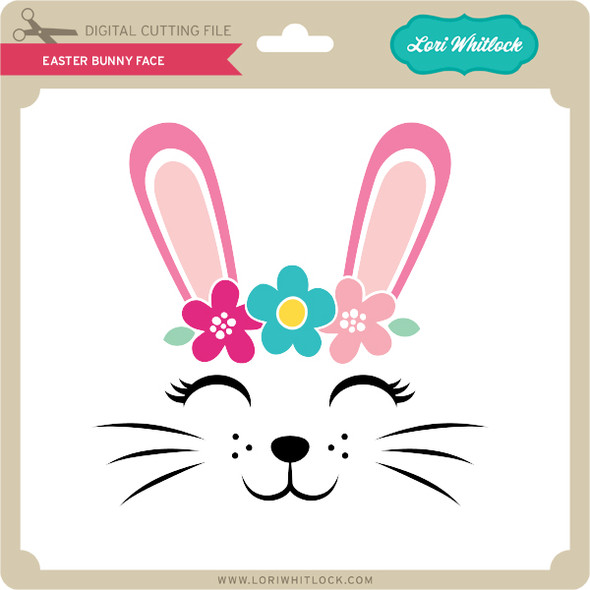 Easter Bunny Face