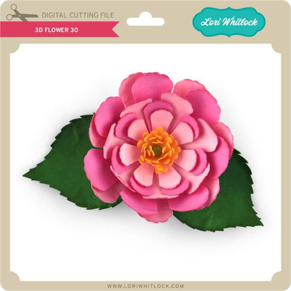 3D Flower 30