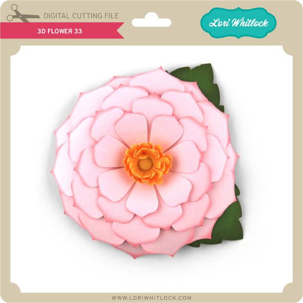 3D Flower 33