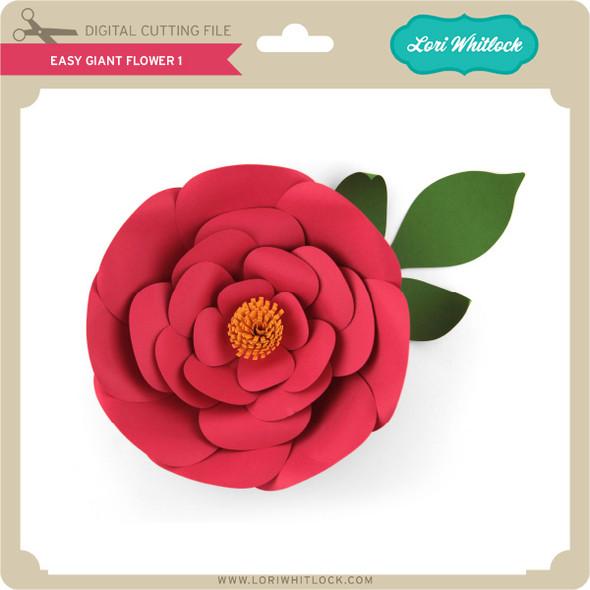 Easy Giant Flower 1