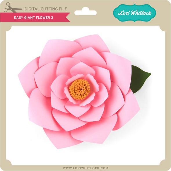 Easy Giant Flower 3