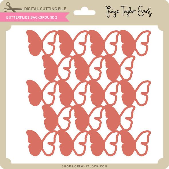 Butterflies Background 2