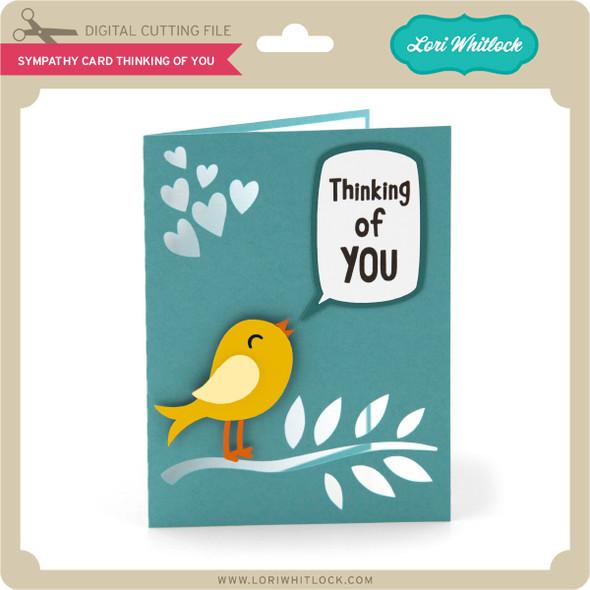 Sympathy Card Thinking of You