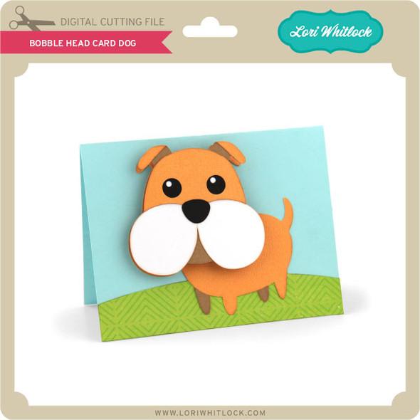 Bobble Head Card Dog