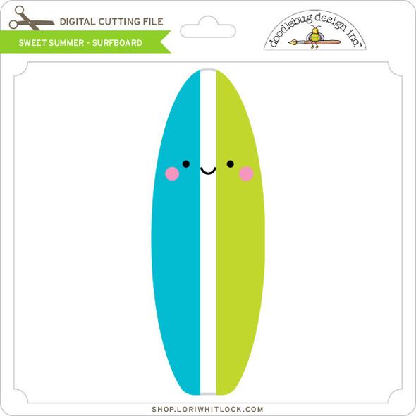 Sweet Summer - Surfboard