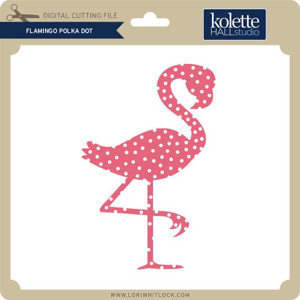 Flamingo Polka Dot