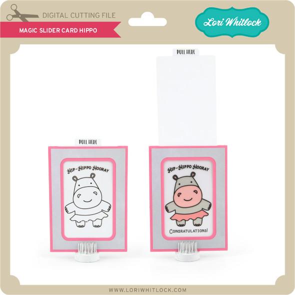Magic Slider Card Hippo