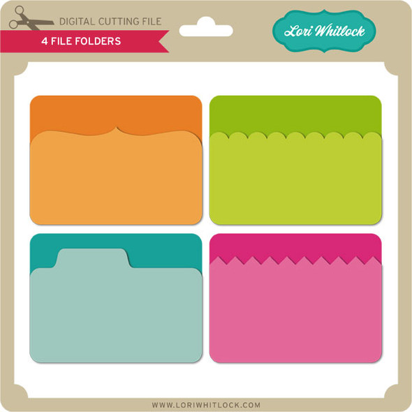 4 File Folders
