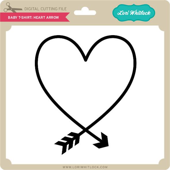 Baby T-Shirt: Heart Arrow
