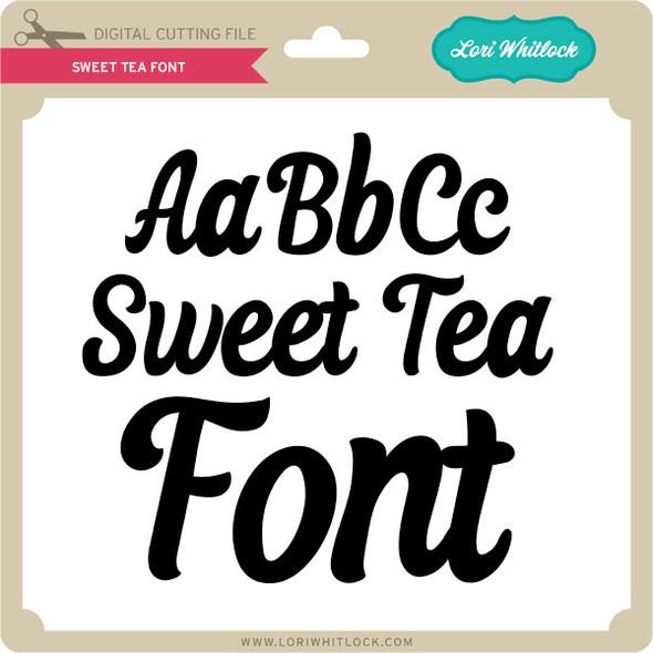 Sweet Tea Font