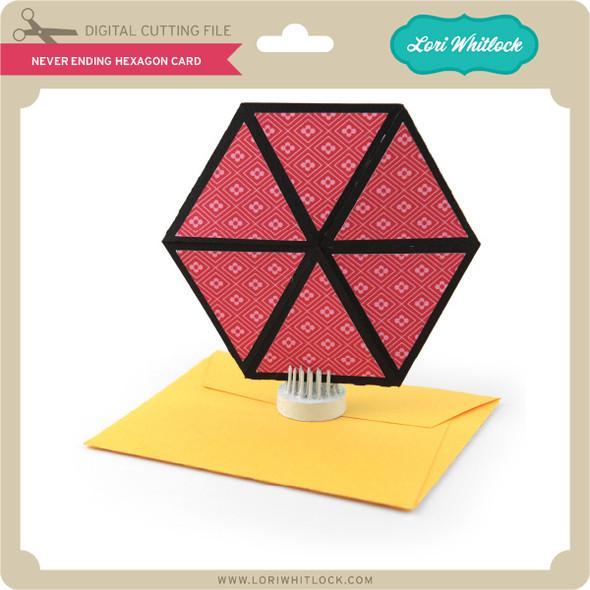 Never Ending Hexagon Card
